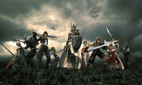 Square Enix, Final Fantasy Dissidia, Cloud Strife, Zidane Tribal, Warrior Of Light