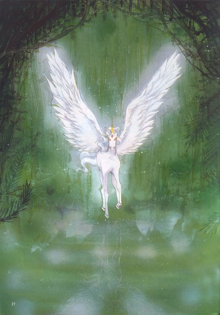 Naoko Takeuchi, Bishoujo Senshi Sailor Moon, BSSM Original Picture Collection Vol. IV, Pegasus (Sailor Moon)
