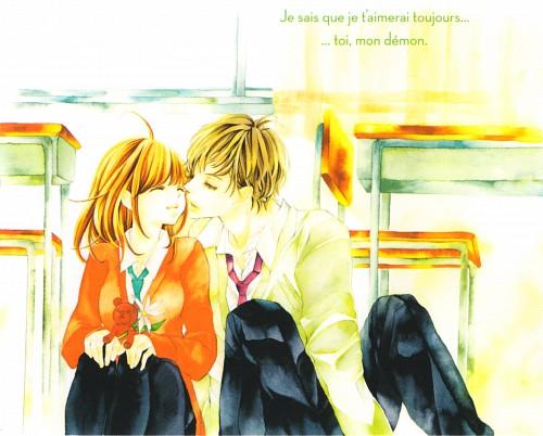 Miwako Sugiyama, Hana ni Kedamono, Kumi Kumakura, Manga Cover