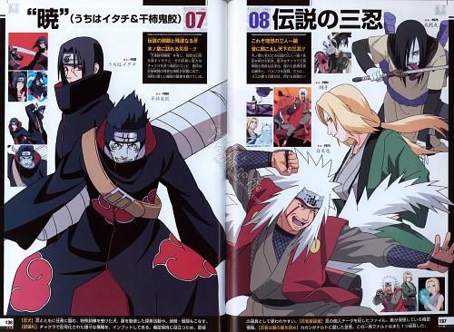 Studio Pierrot, Naruto, Naruto Juunen Hyakunin, Jiraiya , Kisame Hoshigaki