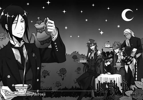 Yana Toboso, A-1 Pictures, Kuroshitsuji, Nijishitsuji Rainbow Butler 2 - Comic Anthology, Joker