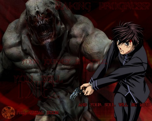 Gonzo, Full Metal Panic!, DOOM, Sousuke Sagara Wallpaper