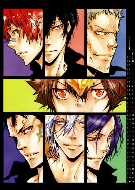 Akira Amano, Artland, Katekyo Hitman Reborn!, Mukuro Rokudo, Kyoya Hibari