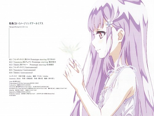 Pony Canyon, A-1 Pictures, Glass no Hana to Kowasu Sekai, Remo, Album Cover