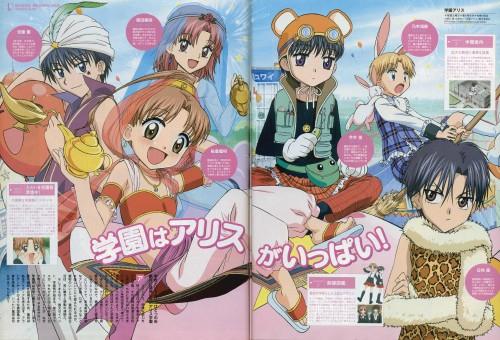 Tachibana Higuchi, Group TAC, Gakuen Alice, Ruka Nogi, Natsume Hyuuga