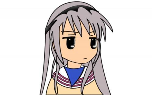 Clannad, Tomoyo Sakagami, Vector Art