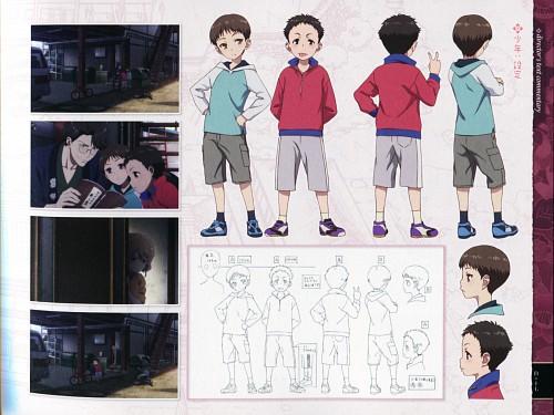 P.A. Works, Hanasaku Iroha, Character Sheet