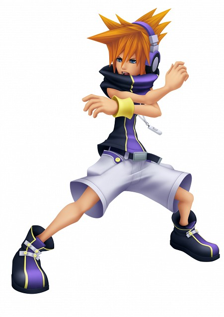 Square Enix, Kingdom Hearts, The World Ends With You, Neku Sakuraba