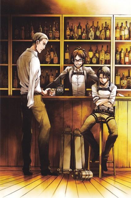 Hajime Isayama, Production I.G, Shingeki no Kyojin, Erwin Smith, Hange Zoe