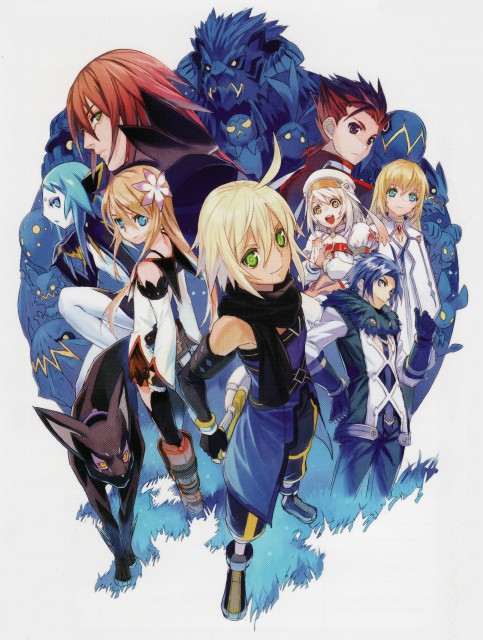 Namco, Tales of Symphonia, Colette Brunel, Alice (Tales of Symphonia), Lloyd Irving