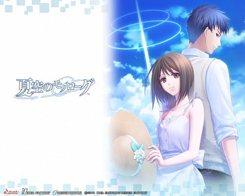 Idea Factory, Natsuzora no Monologue, Kazuki Kinose, Aoi Oogawa, Official Wallpaper