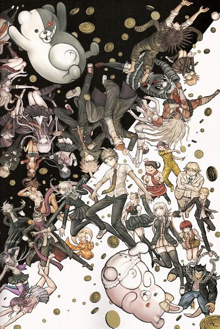 Rui Komatsuzaki, Spike Chunsoft, Dangan Ronpa, Dangan Ronpa 1-2 Reload Official Setting Guide, Super Dangan Ronpa 2