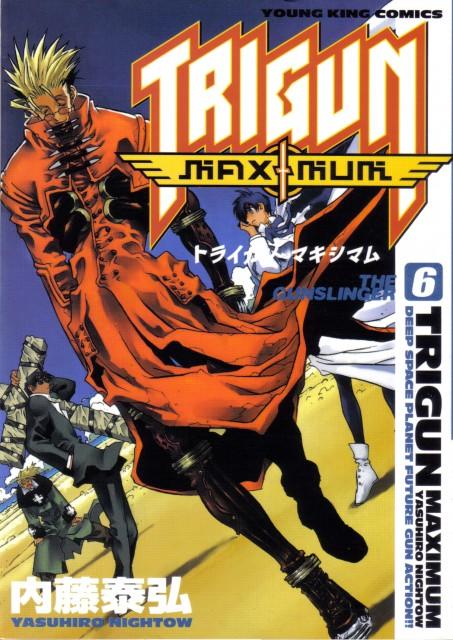Yasuhiro Nightow, Trigun, Meryl Stryfe, Milly Thompson, Nicolas D. Wolfwood