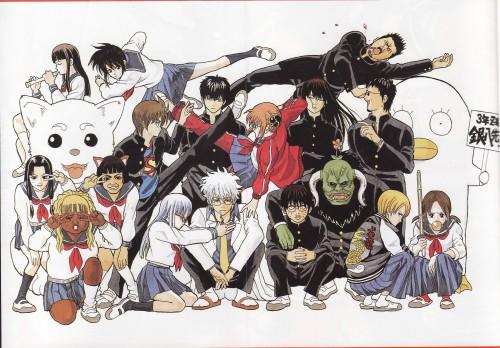 Hideaki Sorachi, Gintama, Hanako (Gintama), Ane, Shinpachi Shimura