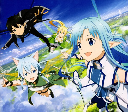 Abec, A-1 Pictures, Lost Song: The Complete Guide, Sword Art Online, Asuna Yuuki