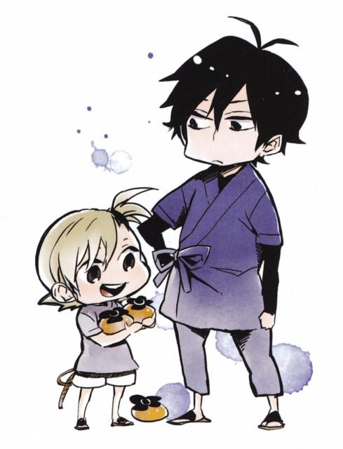 Satsuki Yoshino, Barakamon, Seishu Handa, Naru Kotoishi, Manga Cover