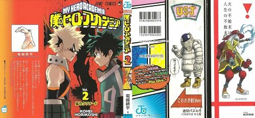 Kouhei Horikoshi, Boku no Hero Academia, Toshinori Yagi, No. 13, Katsuki Bakugou