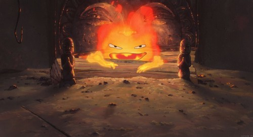 Studio Ghibli, Howl's Moving Castle, Calcifer