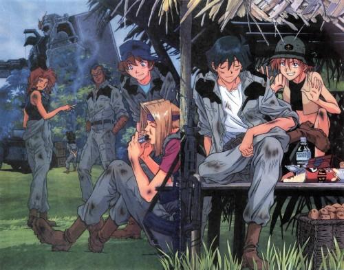 Sunrise (Studio), Mobile Suit Gundam - Universal Century, Mobile Suit Gundam: The 08th MS Team, Shiro Amada