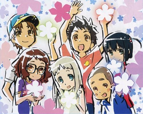 A-1 Pictures, AnoHana, Meiko Honma, Jinta Yadomi, Chiriko Tsurumi