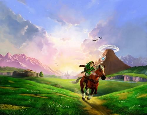 Nintendo, The Legend of Zelda: Ocarina of Time, The Legend of Zelda, Epona, Link