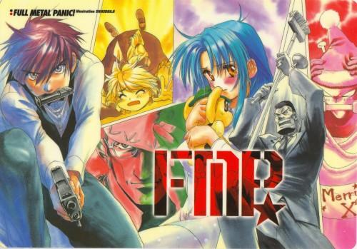 Gonzo, Full Metal Panic!, Kaname Chidori, Sousuke Sagara