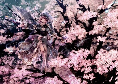 Miyuki Ruria, mythos-You-, Touhou, Yuyuko Saigyouji, Comic Market 81