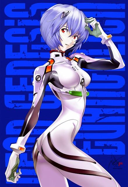 Yoshiyuki Sadamoto, Gainax, Neon Genesis Evangelion, Rei Ayanami, Vector Art