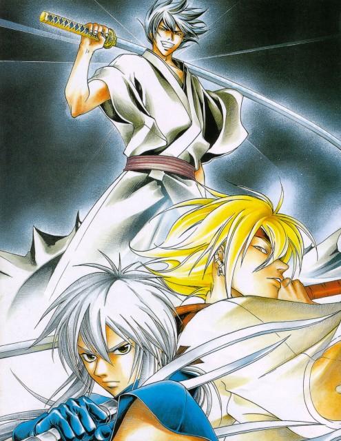Akimine Kamijyo, Studio Deen, Samurai Deeper Kyo, Shinrei, Demon Eyes Kyo