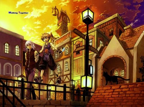 Kingdom Hearts, Riku, Sora, Doujinshi Cover, Doujinshi