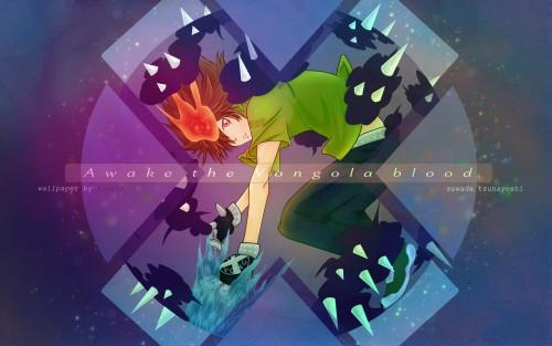 Akira Amano, Artland, Katekyo Hitman Reborn!, Tsunayoshi Sawada, Vector Art Wallpaper