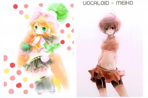 Shimeko, Landmark (Artbook), Vocaloid, Rin Kagamine, Meiko