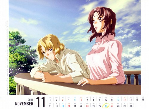 Hisashi Hirai, Sunrise (Studio), Mobile Suit Gundam SEED Destiny, Mu La Flaga, Murrue Ramius