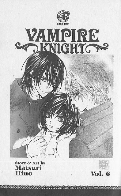Matsuri Hino, Vampire Knight, Yuuki Cross, Kaname Kuran, Zero Kiryuu