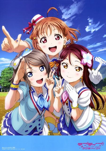 Murota Yuuhei, Sunrise (Studio), Love Live! Sunshine!!, You Watanabe, Chika Takami