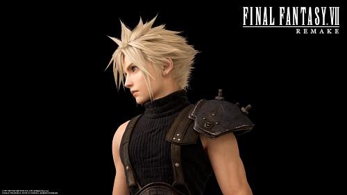 Square Enix, Final Fantasy VII, Cloud Strife, Official Digital Art