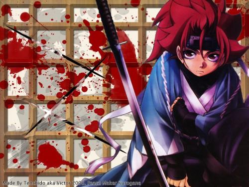Nanae Chrono, Gonzo, Peacemaker Kurogane, Tetsunosuke Ichimura, Occupations Wallpaper