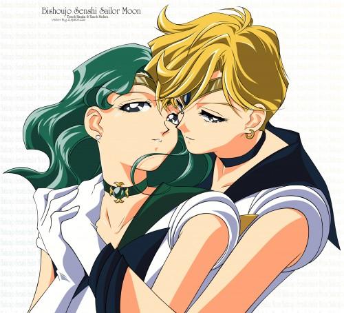 Toei Animation, Bishoujo Senshi Sailor Moon, Sailor Neptune, Sailor Uranus, Vector Art