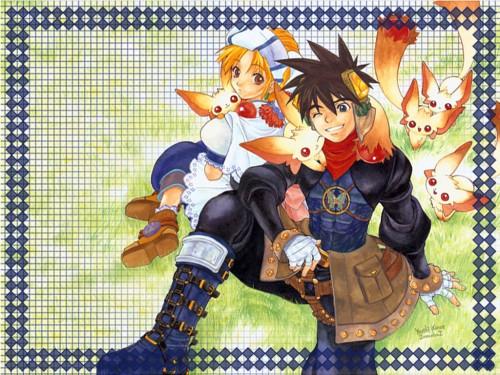 Square Enix, Grandia, Elena (Grandia), Ryudo Wallpaper