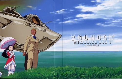 Sunrise (Studio), Turn A Gundam, Lily Borjarno, Guin Sard Rhineford