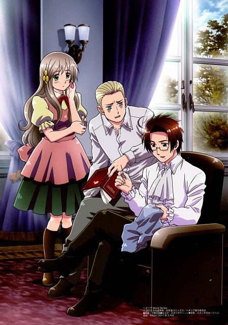 Hidekaz Himaruya, Studio DEEN, Hetalia: Axis Powers, Germany, Hungary