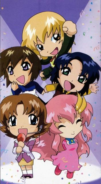 As' Maria, Sunrise (Studio), Mobile Suit Gundam SEED, Lacus Clyne, Miriallia Haw