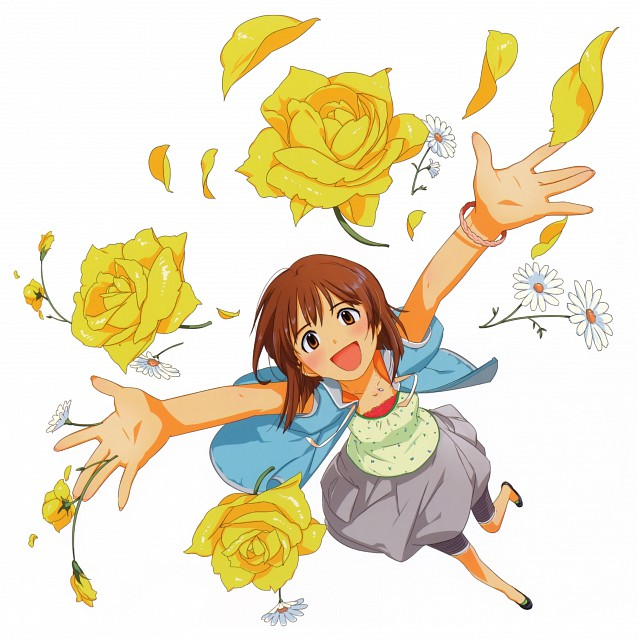 Annindofu, Annindofu Illustration Works - Brilliant Idol, Idol Master, Yukiho Hagiwara