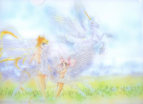 Naoko Takeuchi, Toei Animation, Bishoujo Senshi Sailor Moon, BSSM Original Picture Collection Vol. IV, Pegasus (Sailor Moon)