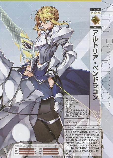 Akira Ishida (Mangaka), TYPE-MOON, DELiGHTWORKS, Fate/Grand Order, Lancer Alter
