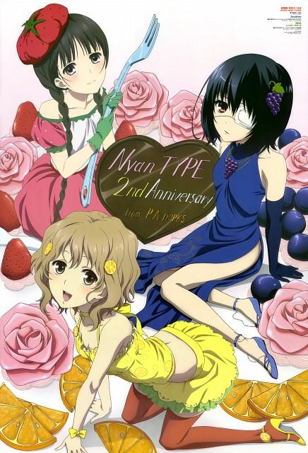 P.A. Works, Another, RDG: Red Data Girl, Hanasaku Iroha, Mei Misaki