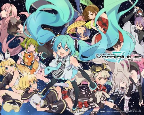 Hechima, Vocaloid, Gumi, Miku Hatsune, Luka Megurine