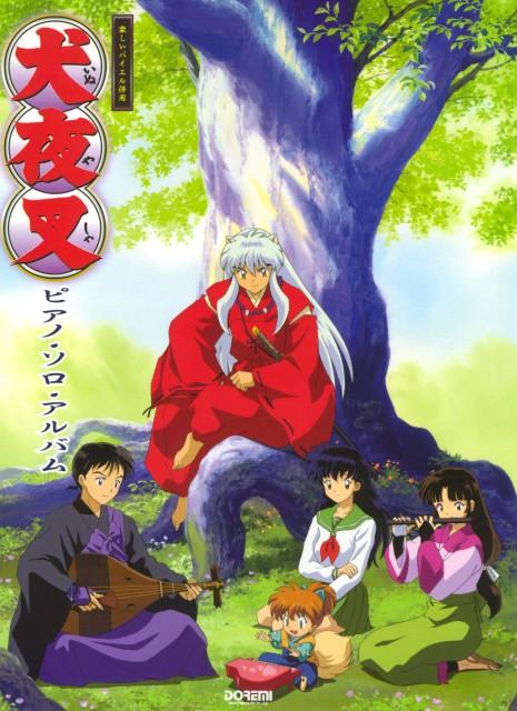 Rumiko Takahashi, Inuyasha, Miroku, Sango, Shippou