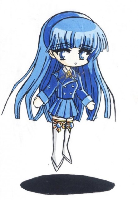 CLAMP, TMS Entertainment, Magic Knight Rayearth, Umi Ryuuzaki, Member Art