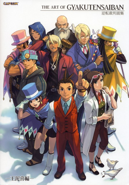 Capcom, Art of Gyakuten Saiban - Odoroki, Ace Attorney, Trucy Wright, Kristoph Gavin